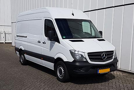 Mercedes Sprinter Verlengd + Verhoogd